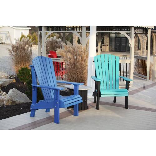 Royal Blue Adirondack Chairs
