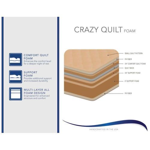 Corsicana Crazy Quilt Foam