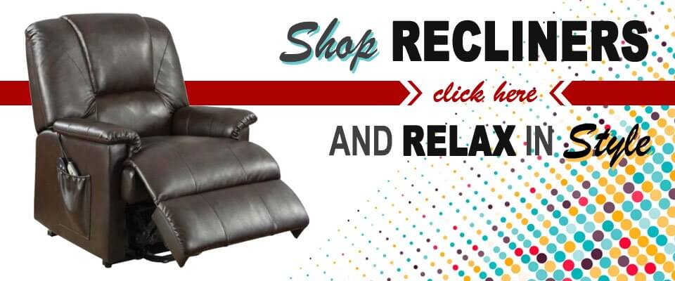 Shop for Recliners at Davis Furniture and Appliance!
