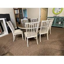 HIGHLAND DINING SET WITH 6 CHAIRS