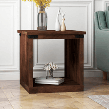 View Product - Farmhouse End Table in an Aged Whiskey Finish       (FH4110-AWY,53049)