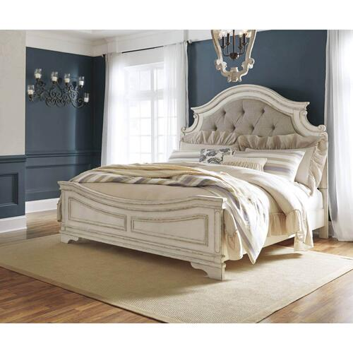 Realyn Queen Upholstered Bed