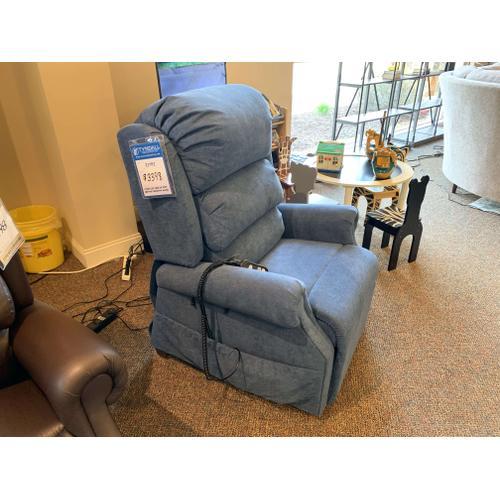 Blue Decompression Chair