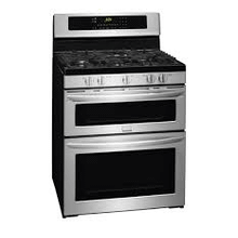 FLOOR MODEL MOD # FGGF304PDF-AS S/N 3850 Frigidaire Gallery 30'' Freestanding Gas Double Oven Range