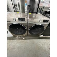 ***ANKENY LOCATION LAUNDRY PAIR*** 4.5 cu. ft. Smart Front Load Washer with Super Speed in Champagne AND 7.5 cu. ft. Smart Electric Dryer with Steam Sanitize  ***SCRATCH AND DENT ITEM** 1 YEAR WARRANTY**