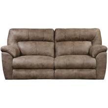 See Details - Hollins Coffee Sofa with Power Reclining