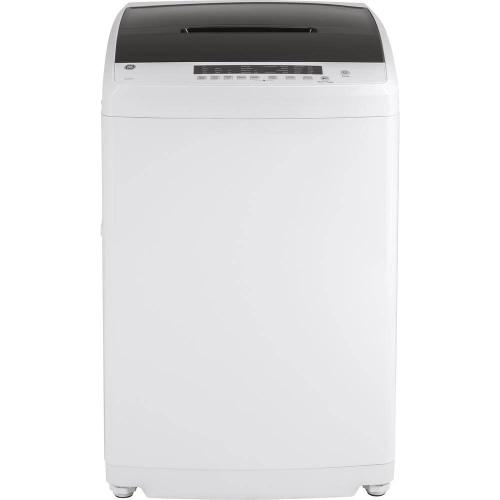 GE 2.8CF White Stationary Top Load Washer