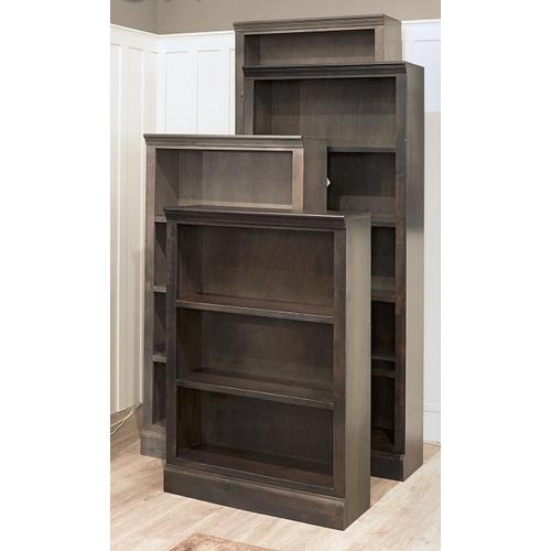 """Aspen Furniture - 84"""" Ghost Black Bookcase"""