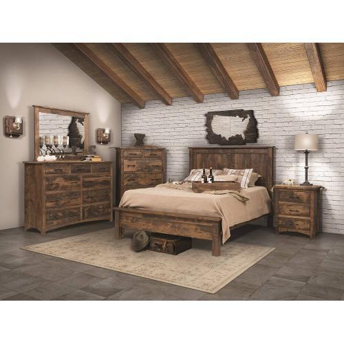 Rustic Barn Floor Bedroom Collection