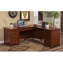 "Flagstaff 72"" Desk with Return"