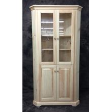 See Details - Maine Made Corner Buffet With Full Doors 26W X 72H X 26D Pine Unfinished