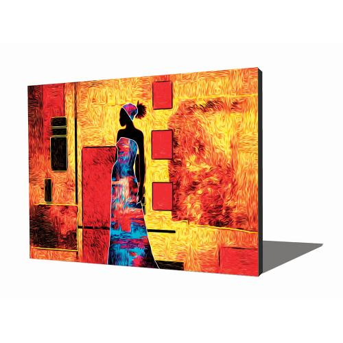 Wall Art - African Woman