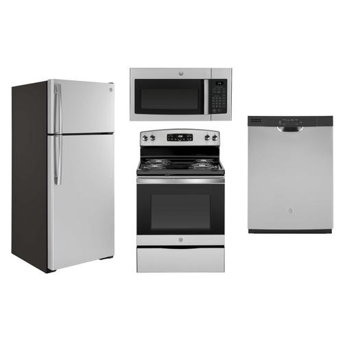 GE Stainless Steel Apartment Package