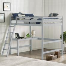 View Product - Glendale Full Size Loft with Desk