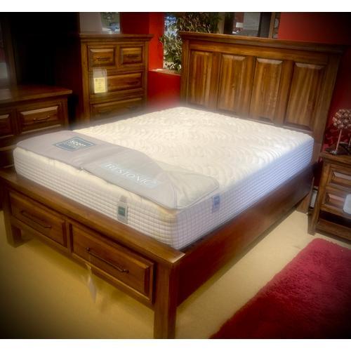 "Restonic - Scott Living - Repose - Plush - Queen Mattress    FLOOR SAMPLE  ""ASIS""  (Bed sold separately)   (5000132-1050,85274)"