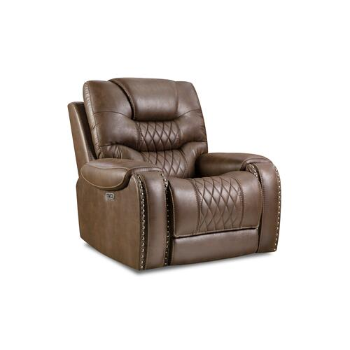 Desert Chocolate Power Recliner