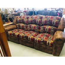 Rustic Reclining Sofa