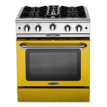 "Culinarian 30"" Gas Manual Clean Range (Signal Yellow)"