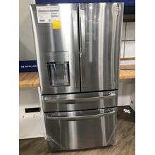 GE Profile™ 27.9 Cu. Ft. Smart 4-Door French-Door Refrigerator with Door In Door**OPEN BOX ITEM** West Des Moines Location