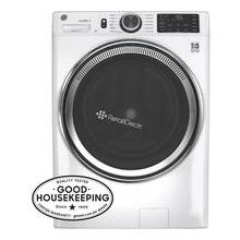 See Details - GE Unitized Spacemaker® 3.8 cu. ft. Capacity Washer with Stainless Steel Basket and 5.9 cu. ft. Capacity Electric Dryer