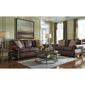 Ashley Breville Sofa & Loveseat in Espresso
