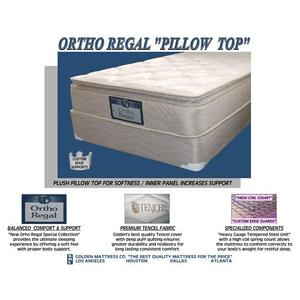 Ortho Regal Pillow Top - Queen