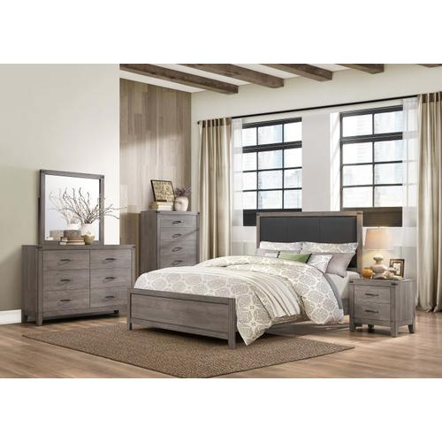 Woodrow 4Pc Full Bed Set
