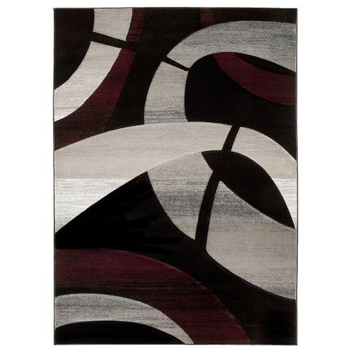 American Cover Design - Medium - Sculpture S-248 Black 5x7 Rug