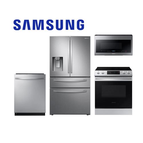 Samsung Stainless Steel 4-Piece Kitchen Package