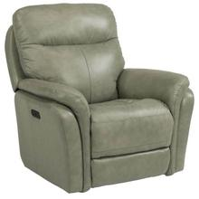 See Details - Zoey Power Gliding Recliner with Power Headrest - Leather Fenwick - 360-01 Leather/Vinyl
