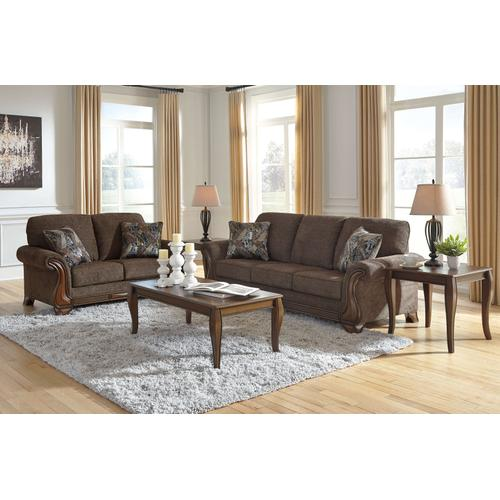 MILTONWOOD - TEAK SOFA & LOVE SEAT