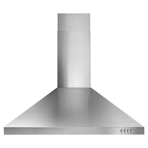 "Whirlpool 30"" Stainless Steel Convertible Hood"