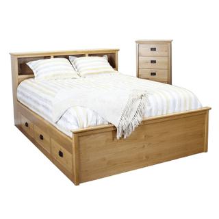 See Details - Shaker Captains Bed