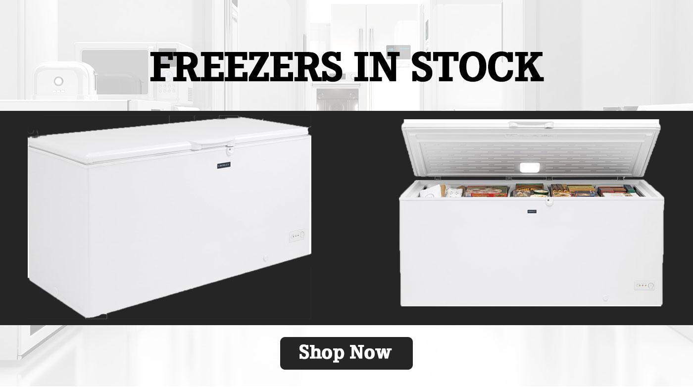 Freezers In Stock