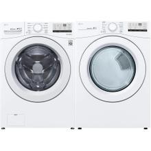 LG  Smart Wi-Fi Enabled 4.5-cu ft  Front-Load Washer & Smart Wi-Fi Enabled 7.4-cu ft Stackable Electric Dryer Set