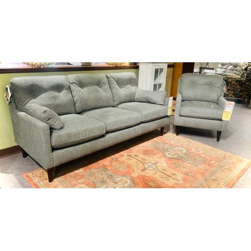 Best Home Furnishings - TREVIN SOFA Stationary Sofa in Ash       (S38E-19263C,29056)