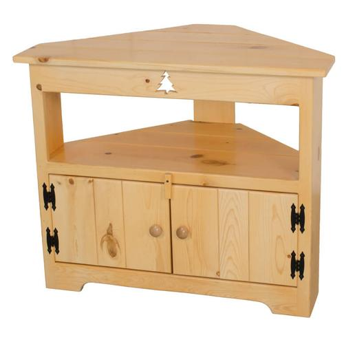 Product Image - BW590 Corner TV Stand with Cutout