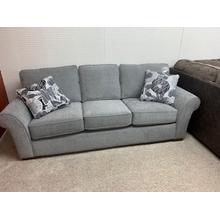 Stanton 55101 Sofa100L X 36H 65D Surge Ash / Erland Greystone / Ash Leg . 100%yester . CC:  WS