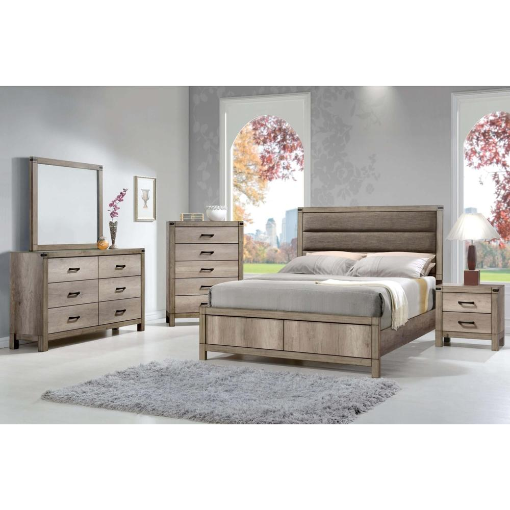 Matteo 4Pc Full Bed Set