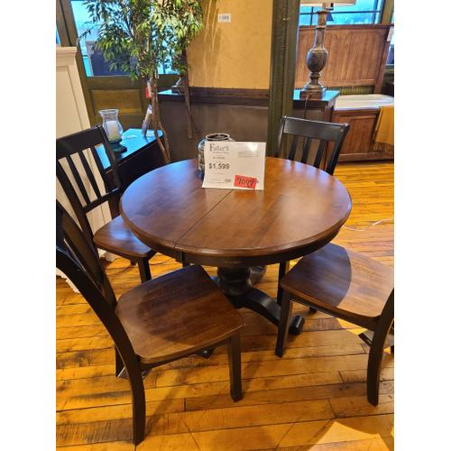 CLEARANCE 5 Piece Dining Table & Chairs