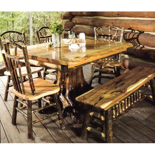 Live Edge  Stump Table