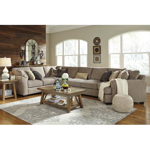 Pantomine Sectional with Cuddler option
