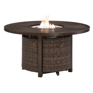 """Paradise Trail 48"""" Round Fire Pit Table"""