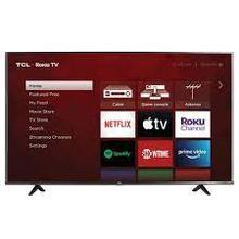 """See Details - TCL 65"""" Class 4K Ultra HD Roku Smart TV"""