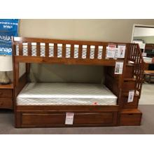 Twin/Twin Storage Staircase Bunkbed