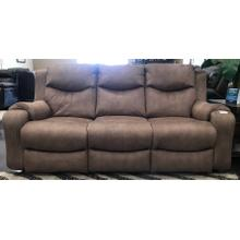 Tan Power Reclining Sofa