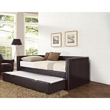 Brown Daybed With Trundle Box