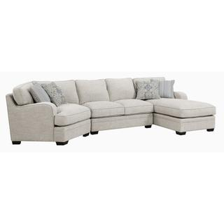 See Details - Analiese Sectional Right Facing Ivory