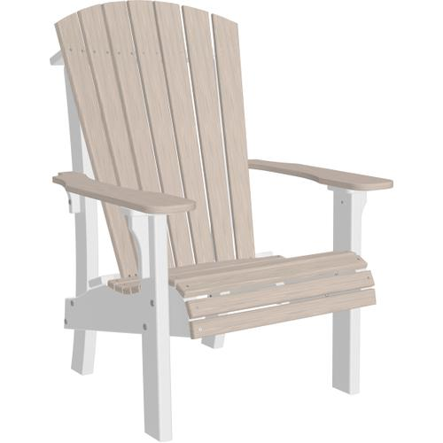 Royal Adirondack Chair Premium Birch and White