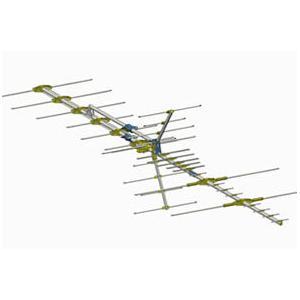 High Band VHF/UHF  Deep Fringe Antenna
